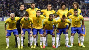 Brazil Squad at Confederations Cup 2013