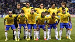 Brazil Squad at Confederations Cup 2013