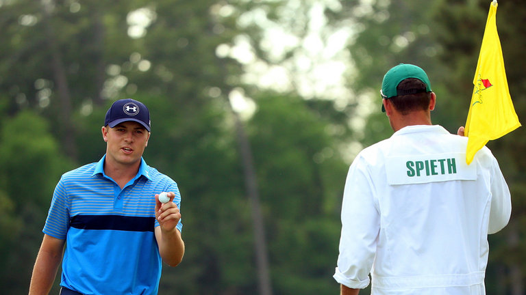 Spieth grabbed the lead on Day 1 and never gave it back.