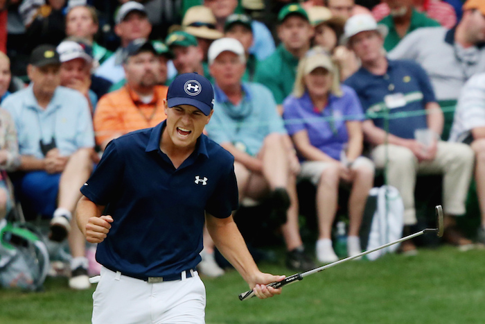 Spieth was able to bounce back from every mistake he made.