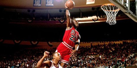 Jordan no se hizo legendario sin su título universitario.