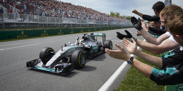 Hamilton made it look easy to win another race in Formula 1 after the Monaco incident.