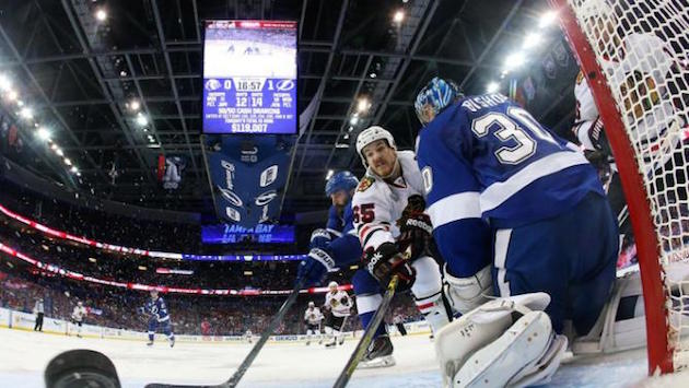Tampa Bay and Chicago are keeping hockey fan on the edge of their seats.