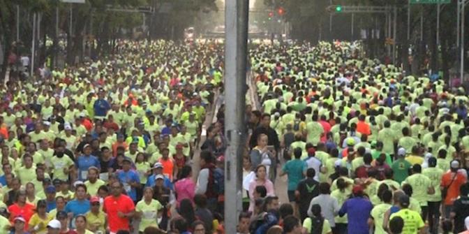Esfuerzo Completo en Medio Maratón (VIDEO)