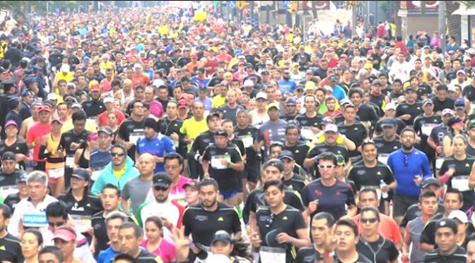 XXXIII Maratón de la Ciudad de México TELCEL