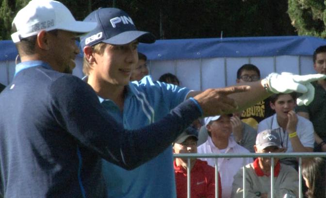 Clinica de Golf con Tiger Woods