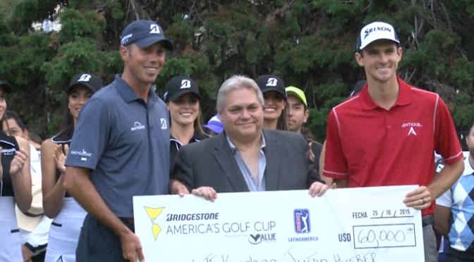 Kuchar y Hueber Campeones del America's Golf Cup