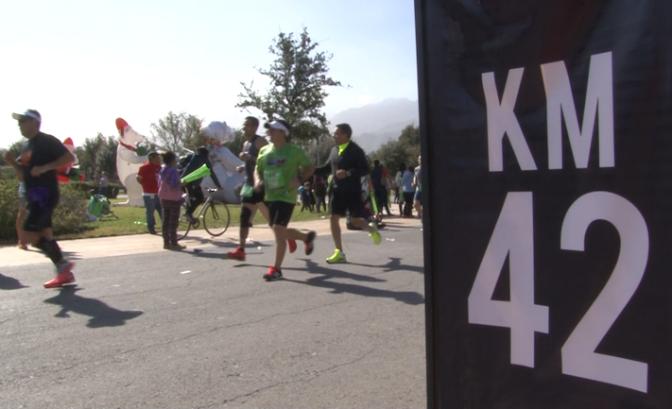 Maratón Powerade Monterrey 2015
