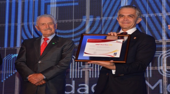 """""""Maratón CDMX Telcel"""" es de Bronce"""
