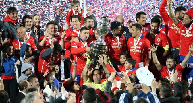 La Noche de Chile Opacada por Messi
