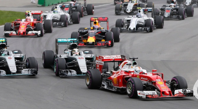 Arde La Fórmula 1 en Canadá