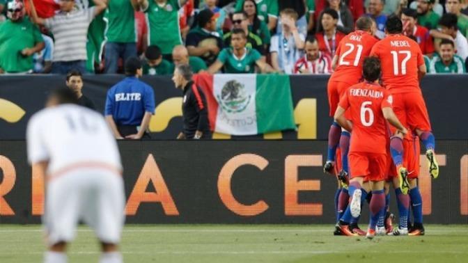 Chile Exhibió al Fútbol, No a México