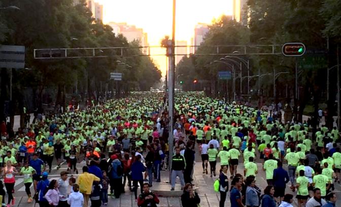 Medio Maratón CDMX Banorte en Crecimiento