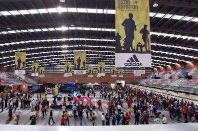 La Expo Maratón ya abrió sus puertas.
