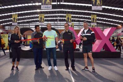 Horacio de la Vega inauguró oficialmente la Expo.