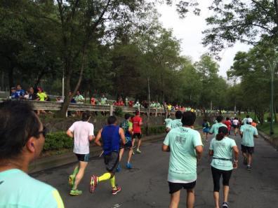 Un mar de gente vistió la ruta del evento.