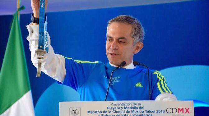 XXXIV Maratón de la Ciudad de México: Previa