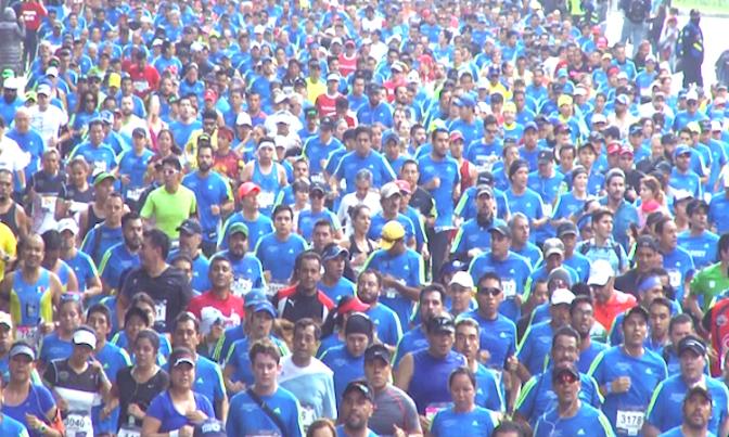 Maratón CDMX 2016… A Lo Grande