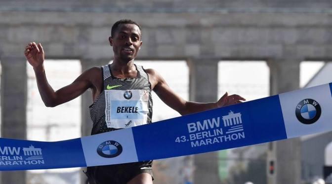 Velocidad Pura en el Maratón de Berlin
