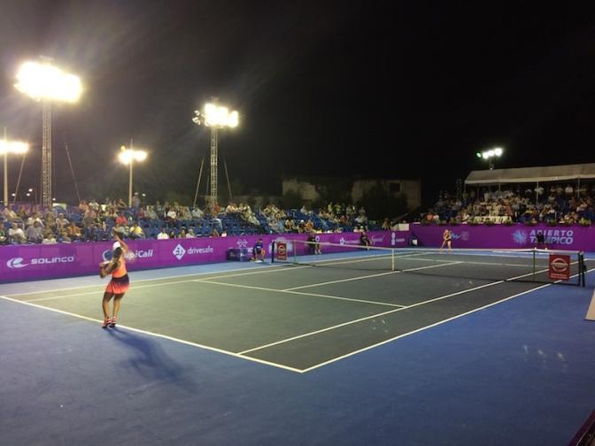Inicia el Abierto de Tenis Tampico 2016