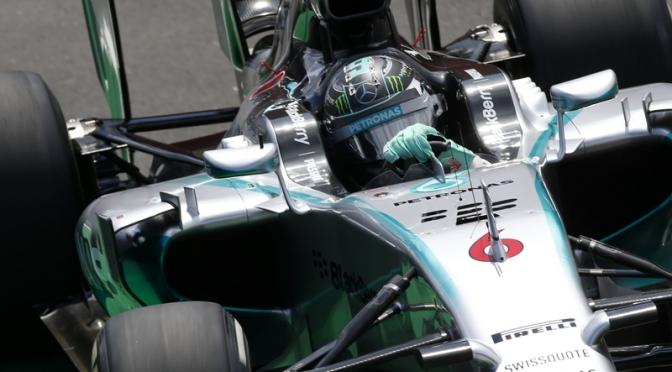 Rosberg Busca Corona en Interlagos
