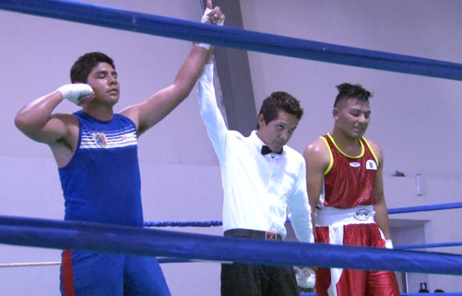 Exitoso Selectivo Estatal de Boxeo