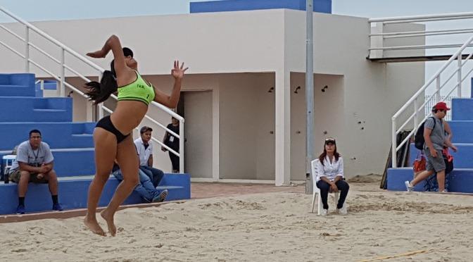 Tamaulipas Domina en Voleibol de Playa