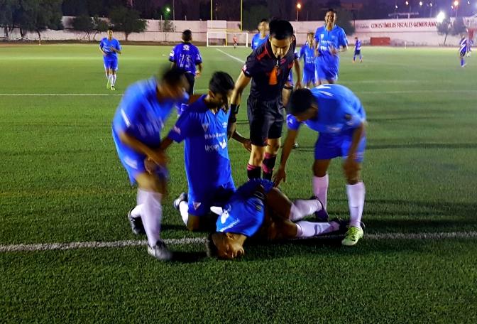 Agónico Empate de Celestes FC en Saltillo