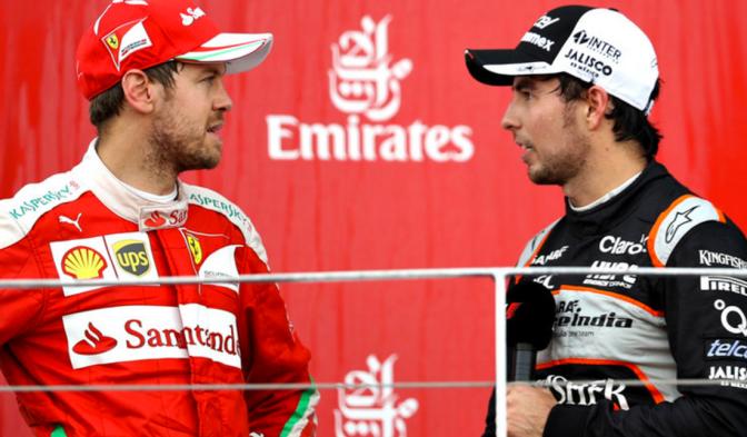 Sergio Pérez a Ferrari