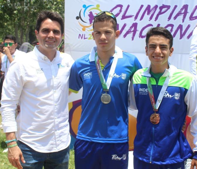 Triatletas Tamaulipecos Brillan en Olimpiada Nacional