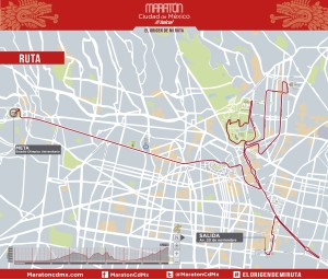 Ruta maratón cdmx