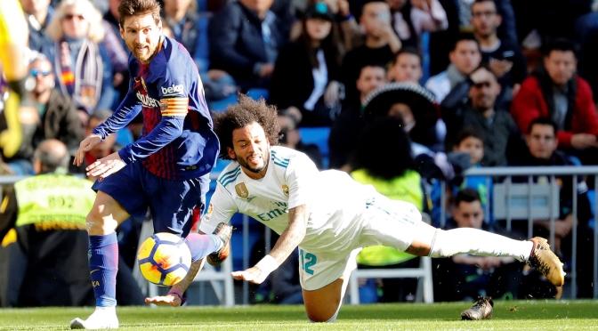 Barcelona Frena al Madrid en el Bernabéu