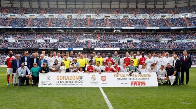 Duelo de Leyendas en el Bernabéu