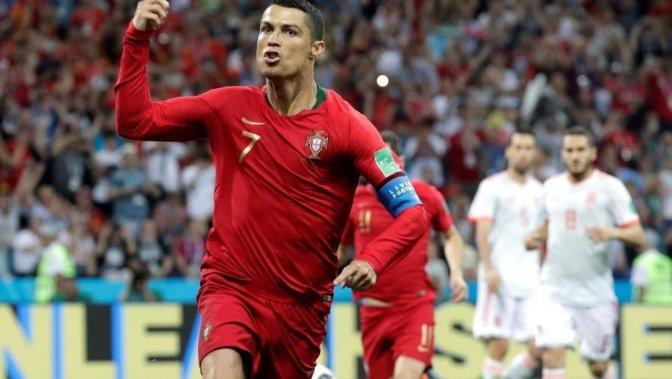 España y Ronaldo Empatan a Tres Goles